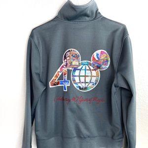 Disney World 40th anniversary zip up jacket